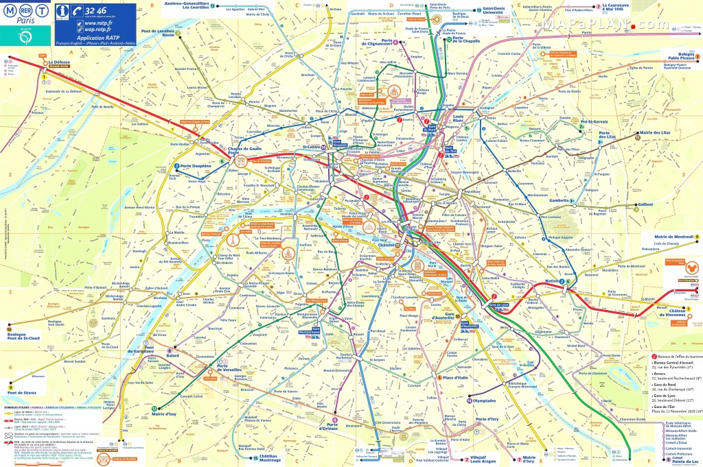 Paris Maps Top Tourist Attractions Free Printable Mapaplan Com And - Printable Map Of Paris With Tourist Attractions