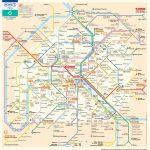 Paris Metro Map – The Paris Pass   Printable Metro Map