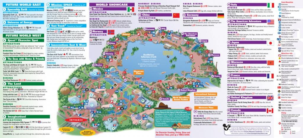 Park Maps 2013 - Photo 4 Of 8 - Printable Disney World Maps 2017