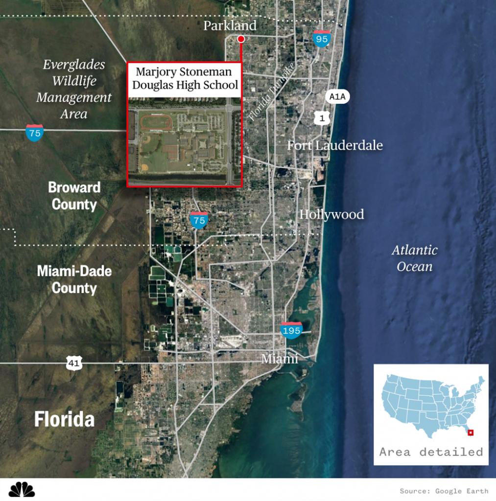 Parkland High School Florida Map | Time Zones Map - Parkland Florida Map