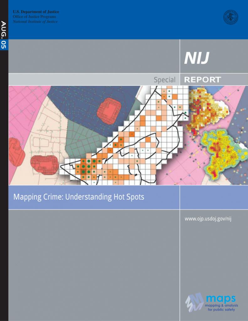 Pdf) Mapping Crime: Understanding Hot Spots - Hot Spot Maps Florida