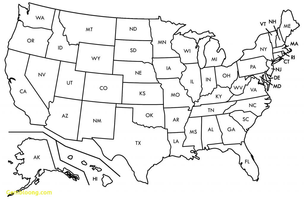 Pdf Printable Us States Map Best Of Us States Map Blank Pdf Best Map - Usa Map Printable Pdf
