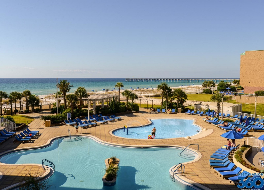 Pensacola Beach Hotels - Resorts In Pensacola Beach - Map Of Hotels In Pensacola Florida