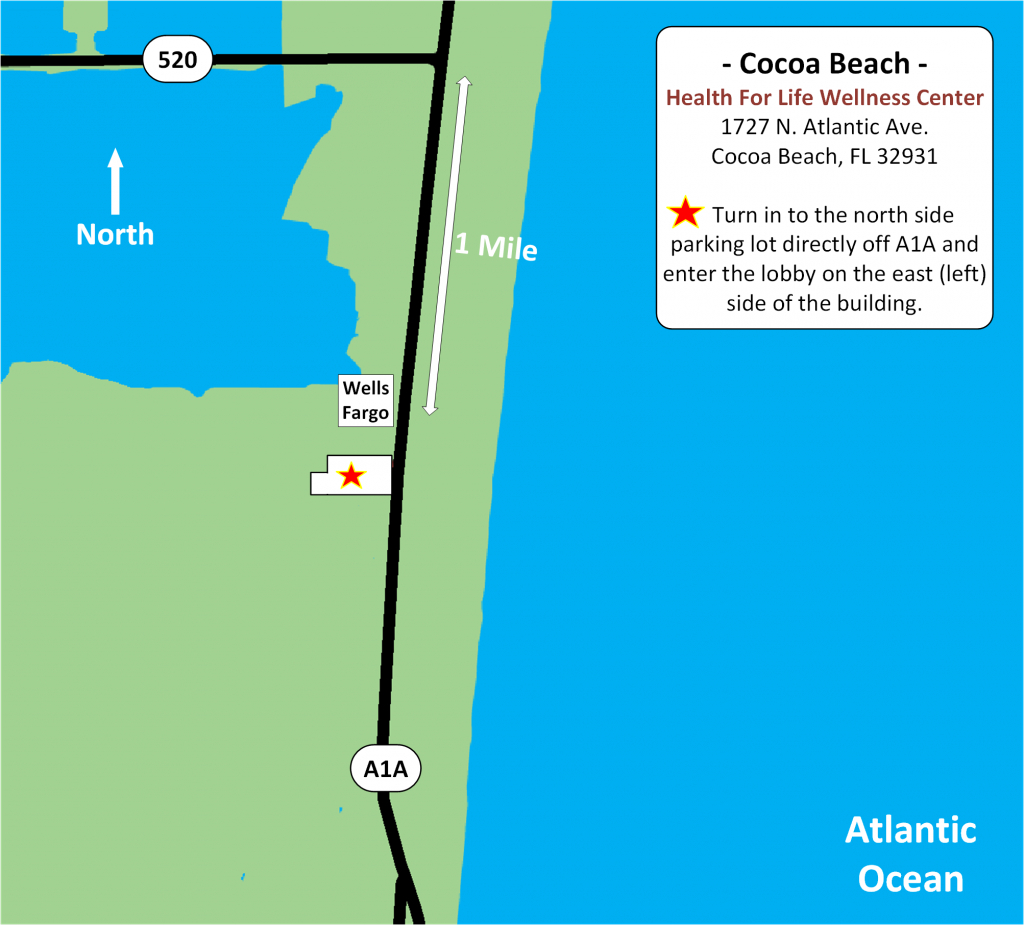 Permanent Makeupsharon Niles - Cocoa Beach - Merritt Island - Cocoa Beach Florida Map