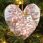 Personalized Florida Map Ornament | Jolly Holiday | Ornaments   Christmas Florida Map