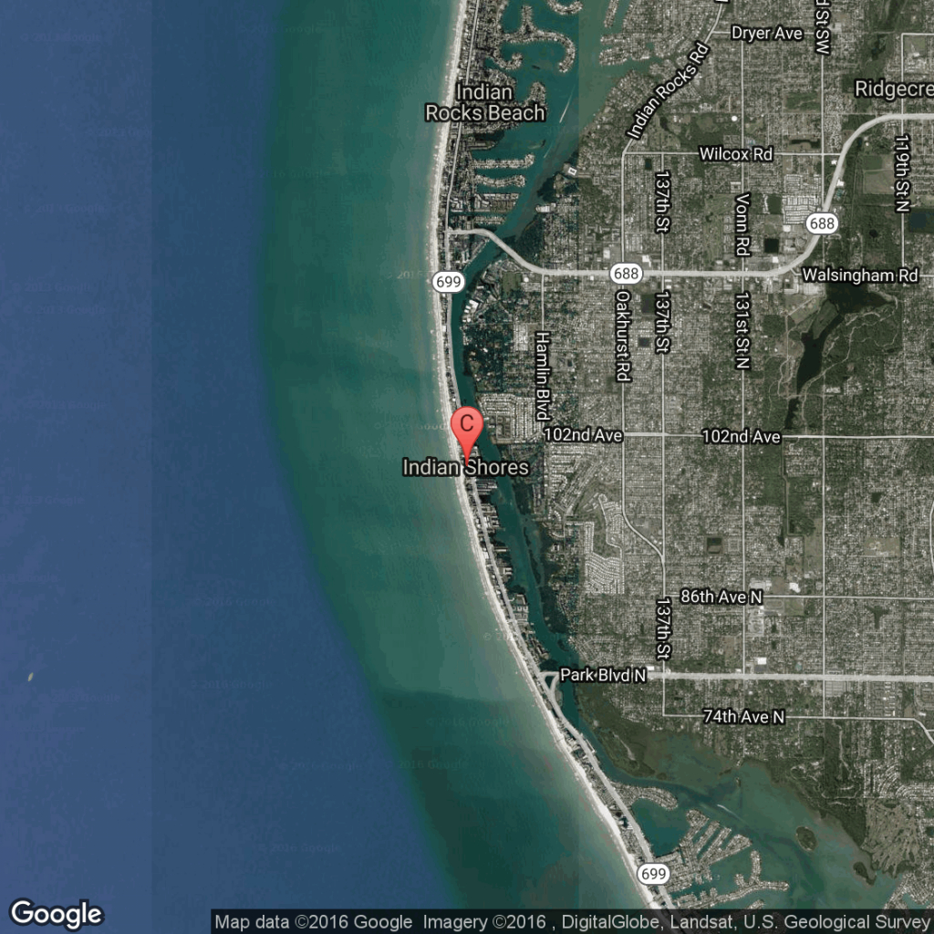 Pet-Friendly Hotels Near Indian Shores, Florida   Usa Today - Indian Beach Florida Map