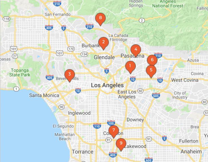 Parvo Outbreak Map 2017 California