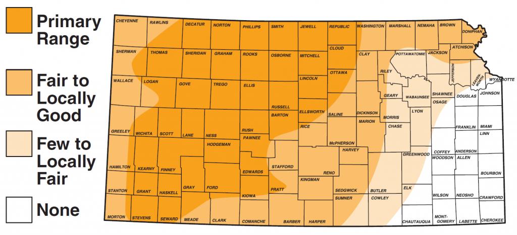 Pheasant / Upland Birds / Hunting / Kdwpt - Kdwpt - Texas Pheasant Population Map