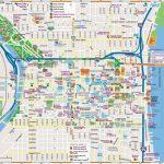 Philadelphia Downtown Map   Philadelphia Tourist Map Printable