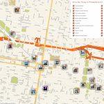 Philadelphia Printable Tourist Map In 2019 | Free Tourist Maps   Philadelphia Tourist Map Printable