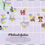 Philadelphia Tourist Attractions Map   Philadelphia Tourist Map Printable