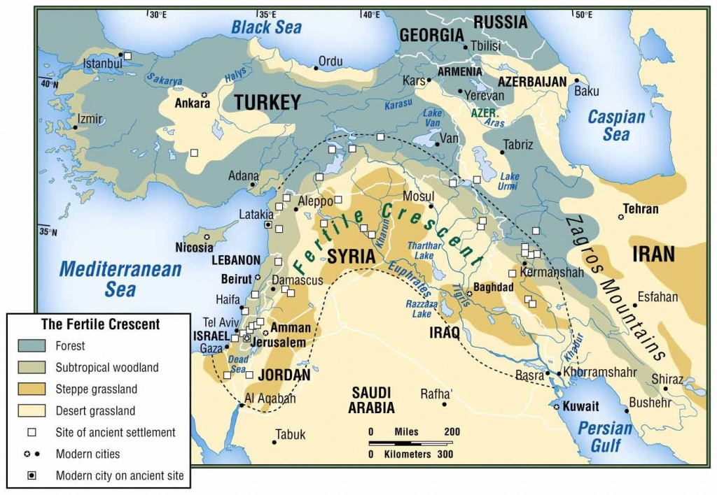 Physical Map Of Fertile Crescent - Google Search | Mesopotamia - Fertile Crescent Map Printable