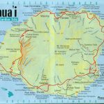 Pinalan Hill On Travel In 2019 | Kauai Map, Kauai Hawaii, Kauai   Printable Driving Map Of Kauai