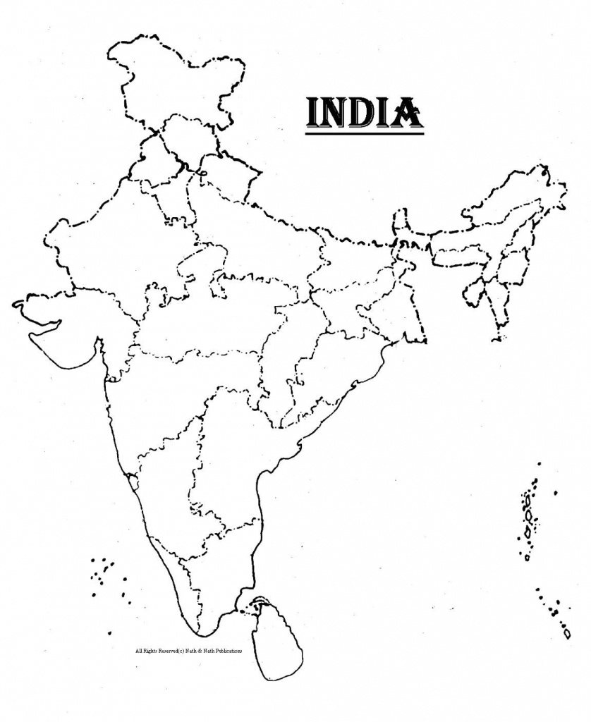 Pinarchna Gulati On Prints | India Map, Asia Map, Map - Blank Political Map Of India Printable