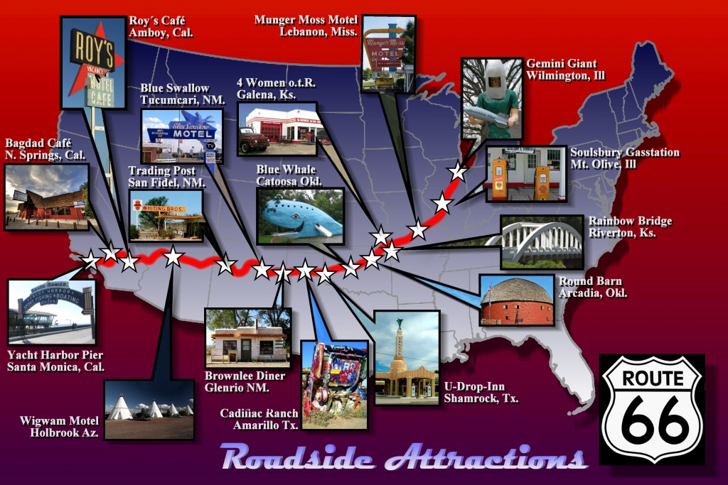 Pindarrell White On Travel | Route 66 Attractions, Route 66 Road - Roadside Attractions Texas Map