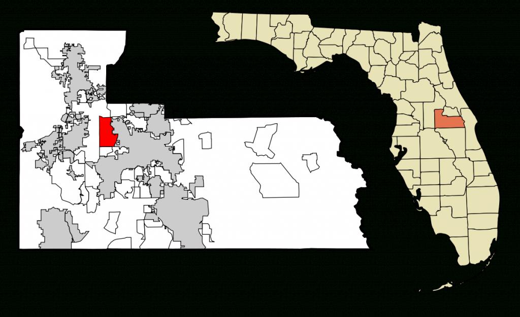 Pine Hills, Florida - Wikipedia - Orange County Florida Crime Map