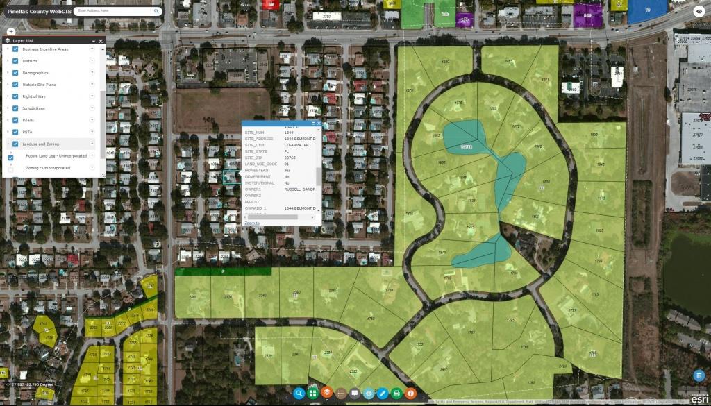 Pinellas County Enterprise Gis - Florida Gis Map