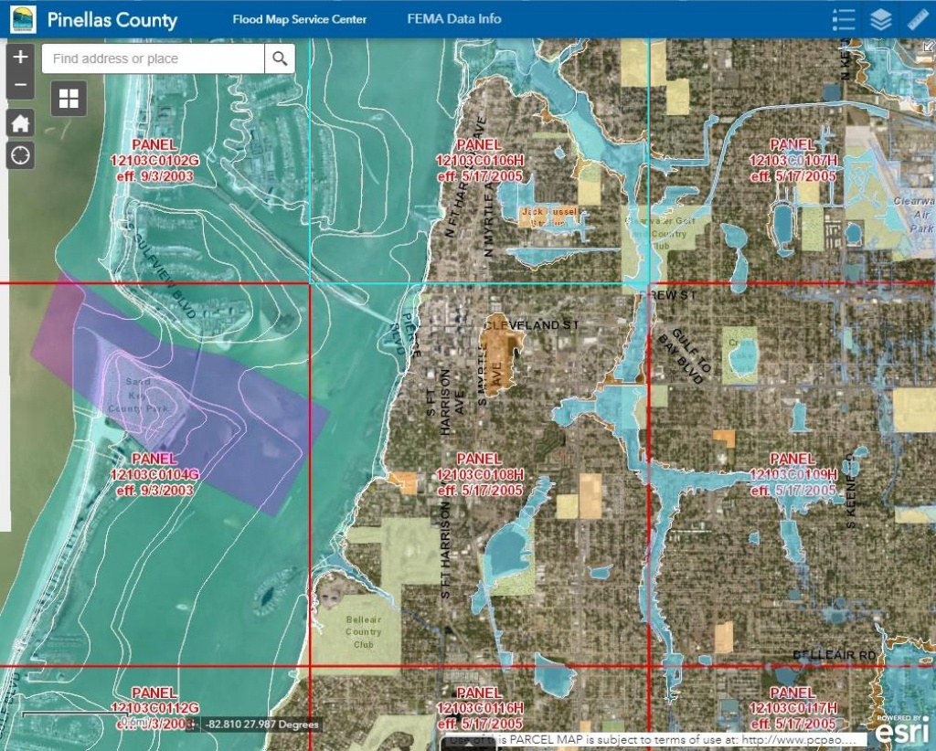 Pinellas County Schedules Meetings After Recent Fema Updates   Wusf News - Gulf County Florida Flood Zone Map