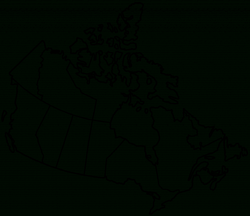 Pinrhonda Scroggins On Geography And History   Map, Canada For - Printable Blank Map Of Canada With Provinces And Capitals