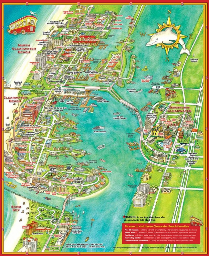 Pintracey Marshall On Vacation - Map Of Tampa Florida Beaches