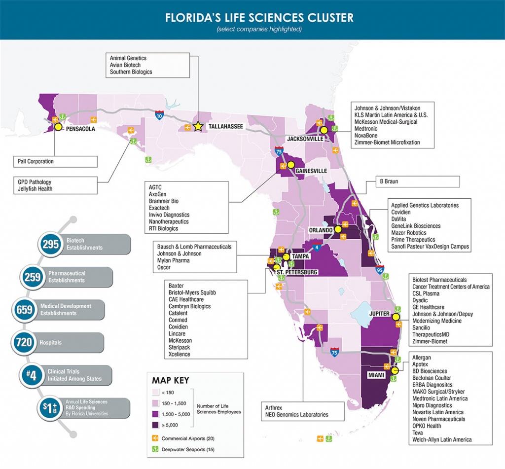 Pittcon Conference – Expo Florida's High Tech Corridor - Pittcon - Florida High Tech Corridor Map