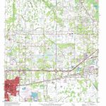 Plant City East Topographic Map, Fl - Usgs Topo Quad 28082A1 - Plant City Florida Map