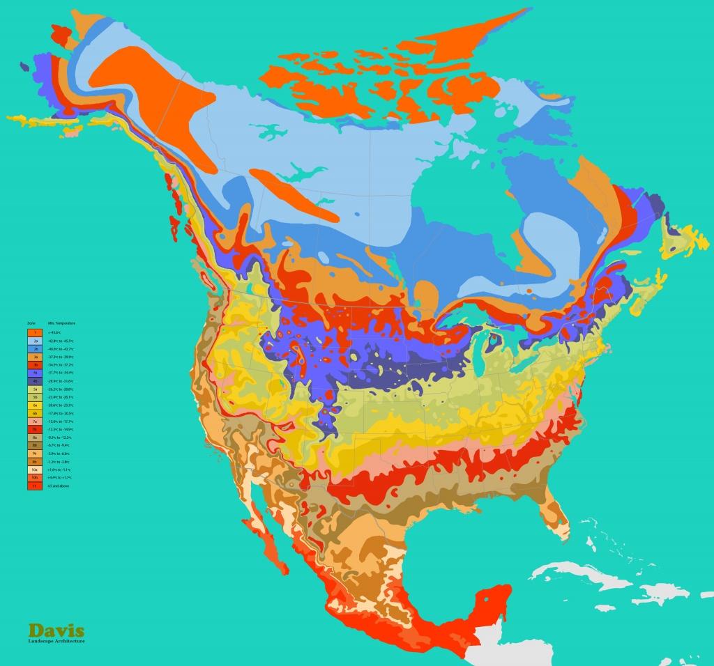 Plant Zones | Landscape Architect's Pages - Plant Zone Map Florida