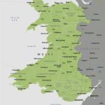 Political Map Of Wales   Royalty Free Editable Vector Map   Maproom   Printable Map Of Wales