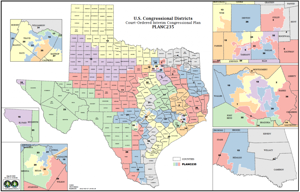 Political Participation: How Do We Choose Our Representatives - Texas District 25 Map