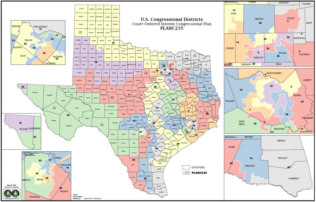 Political Participation: How Do We Choose Our Representatives - Texas Senate District 16 Map