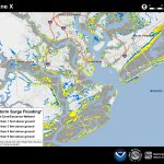 Potential Storm Surge Flooding Map   Interactive Elevation Map Of Florida