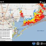 Potential Storm Surge Flooding Map   Spring Texas Flooding Map