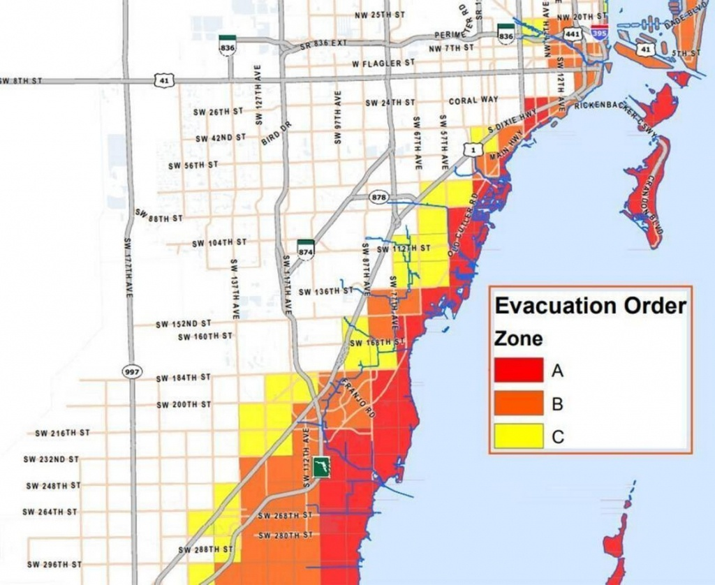 Potentially 'life-Threatening' Storm Surge Prompts Expanded Irma - Florida Hurricane Evacuation Map