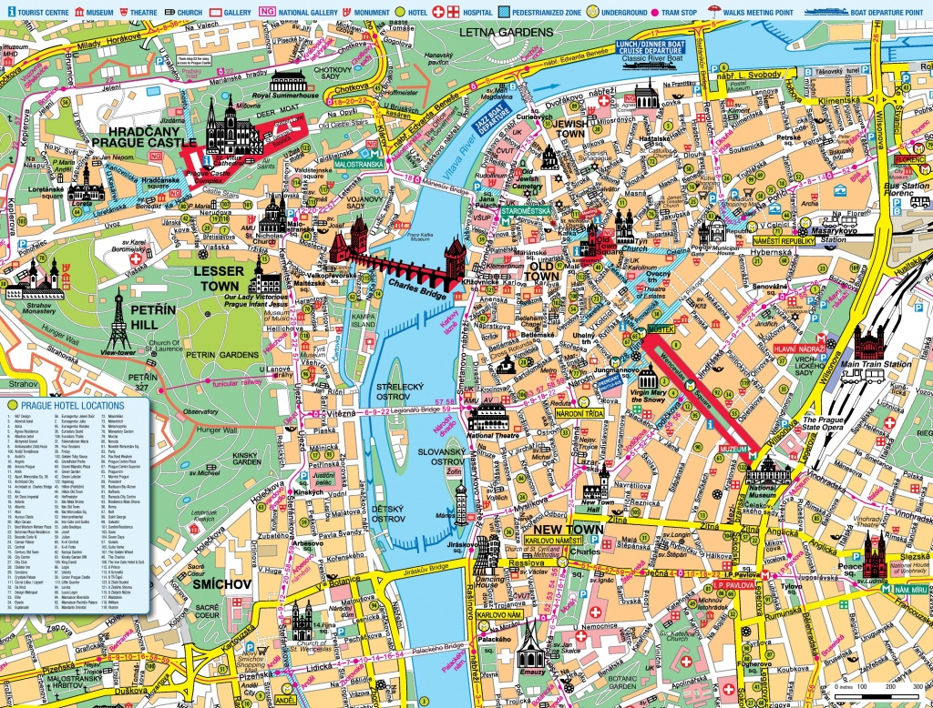 Prague Maps | Czech Republic | Maps Of Prague - Printable Map Of Prague City Centre