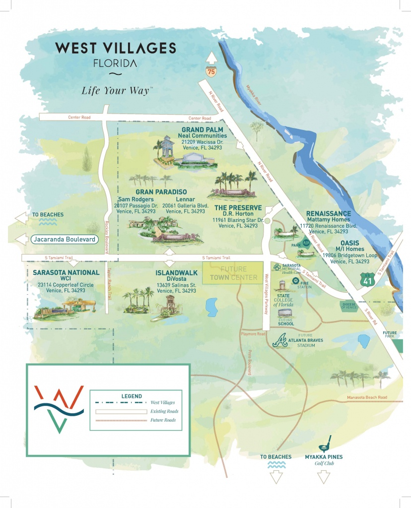 Press Releases - New Homes Sarasota, Home Builder Sarasota - Map Of Sarasota Florida Neighborhoods