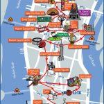 Print Printable Pdf Manhattan Attractions Map Large   Printable Map Of Manhattan Pdf