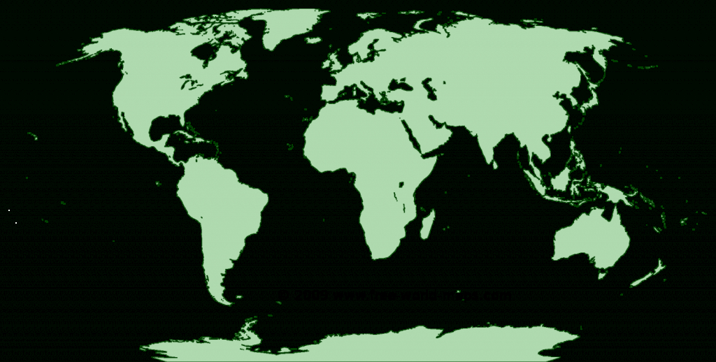 Printable Blank World Maps | Free World Maps - Free Printable Country Maps