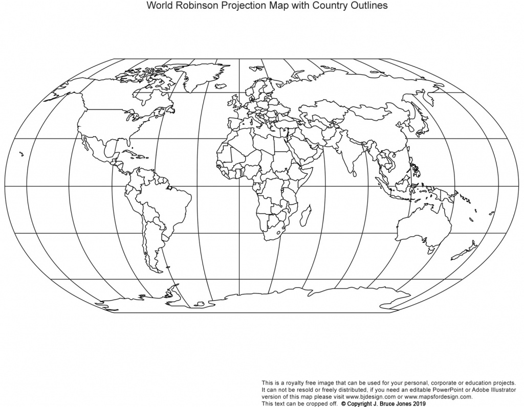 Printable, Blank World Outline Maps • Royalty Free • Globe, Earth - Printable Blank Maps