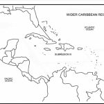 Printable Caribbean Islands Blank Map Diagram Of Central America And   Maps Of Caribbean Islands Printable