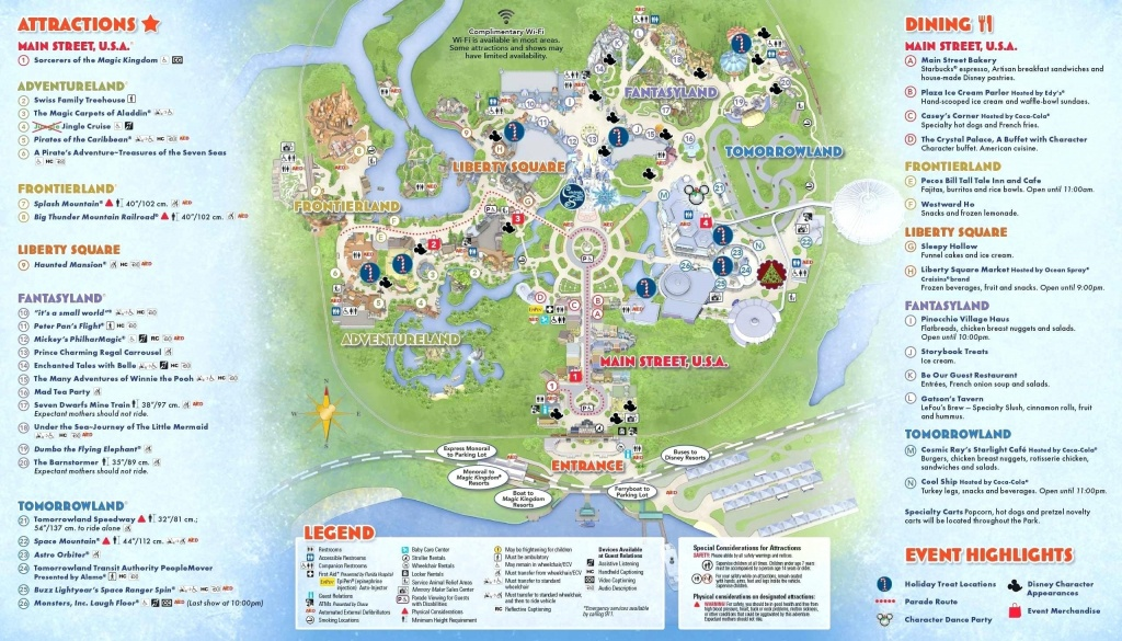 Printable Disney World Maps 2017 Awesome Google Map Orlando Copy - Printable Disney Maps
