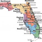 Printable Florida Map State Of Showing Cities All Inclusive - Florida County Map Printable