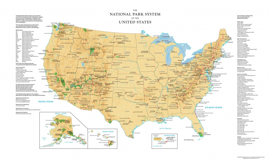 Printable Map Of All National Parks | D1Softball - Printable Map Of National Parks