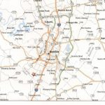 Printable Map Of Austin Texas And Surrounding Cities Neighborhoods   Printable Map Of Austin