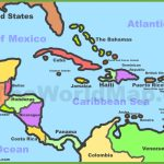 Printable Map Of Caribbean Islands And Travel Information | Download   Maps Of Caribbean Islands Printable
