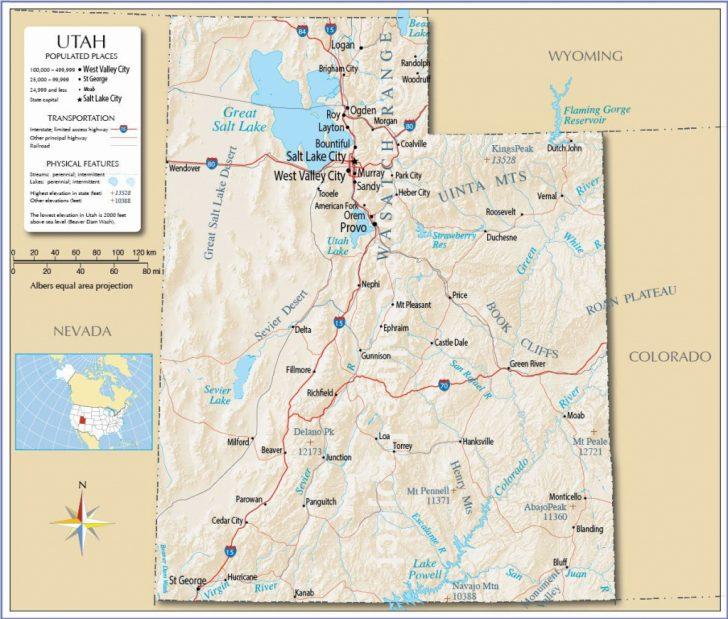 Printable Map Of Colorado Cities