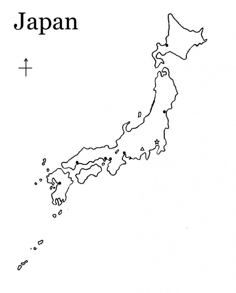 Printable Map Of Japan | Build My Brain! | Japan Country, Map - Printable Map Of Japan