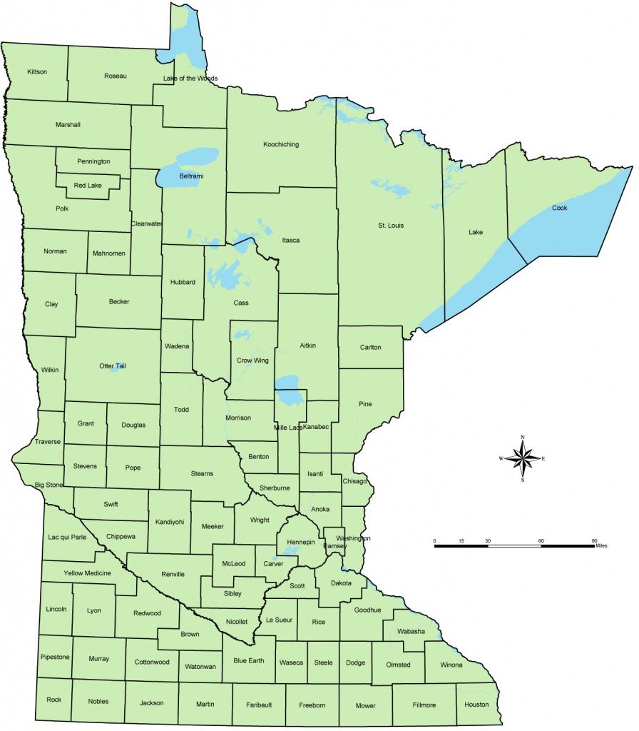 Printable Map Of Minnesota | Sksinternational - Printable Map Of Minnesota