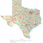 Printable Map Of Texas | Useful Info | Texas State Map, Printable - Texas County Map With Roads
