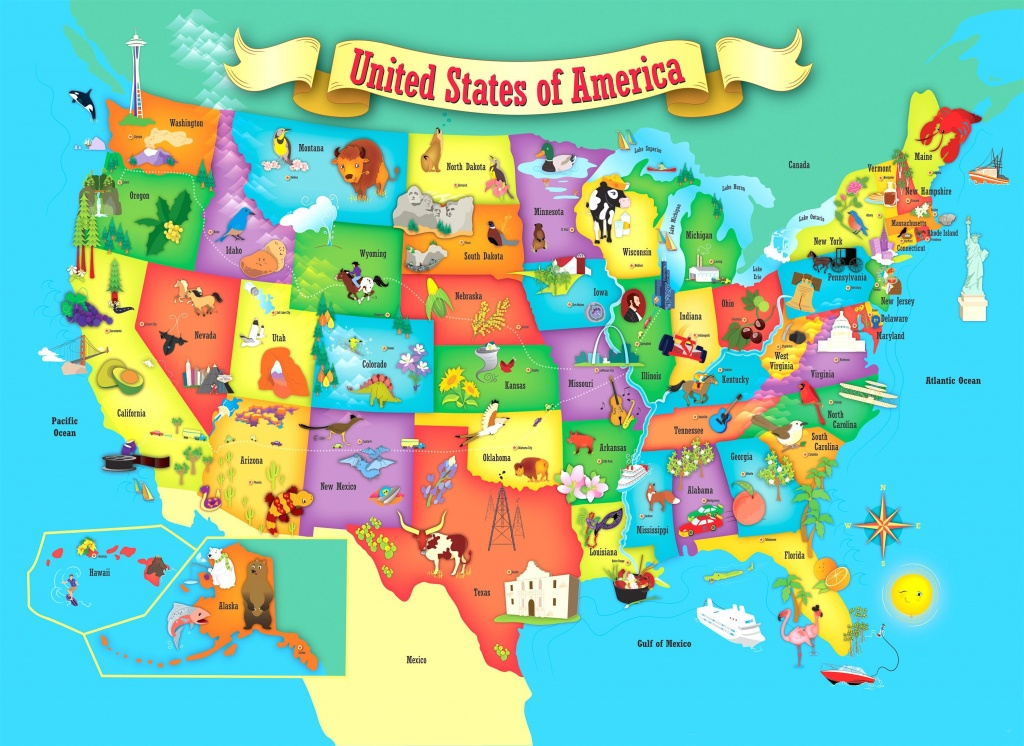 Printable Map Of The Us Mark The States Ive Visited Craft Usa - Map - Printable Us Map For Kids