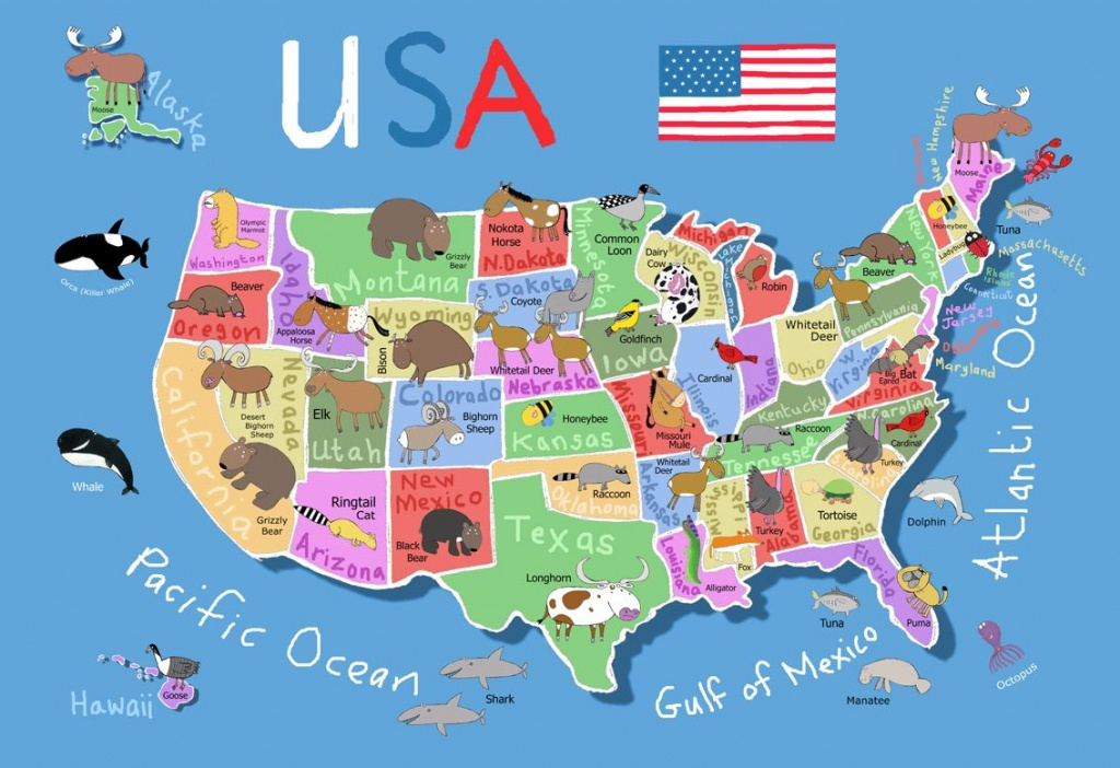 Printable Map Of Usa For Kids | Its's A Jungle In Here!: July 2012 - Printable State Maps For Kids